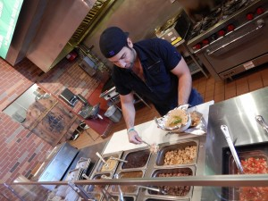 JJ's Grille - Julio showing you how it's done