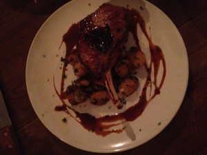 Massive, Juicy Pork Chop From The Smiling Bison Orlando