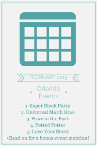 Things to Do In Orlando February 2015